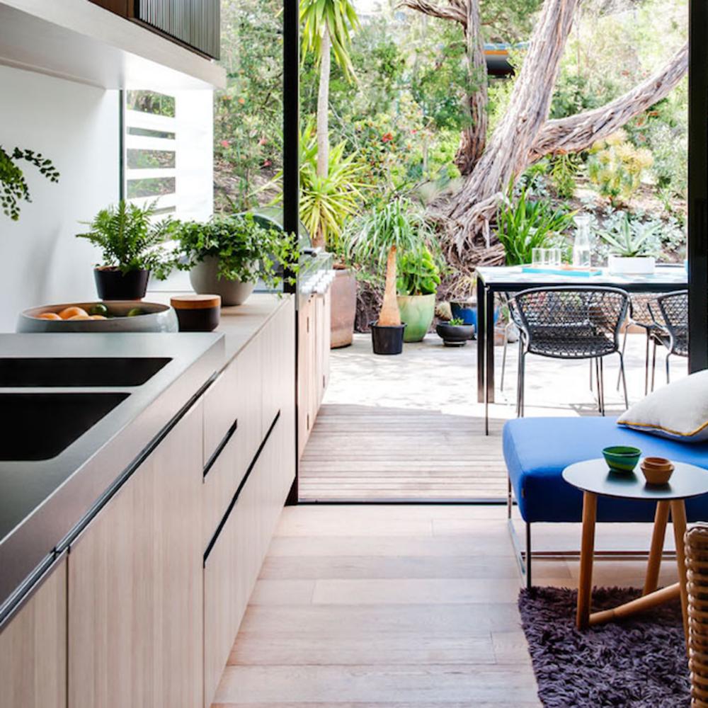 Cuisine Ouverte Sur Terrasse Ou Jardin | Cuisine Ouverte ... avec Verriere Jardin