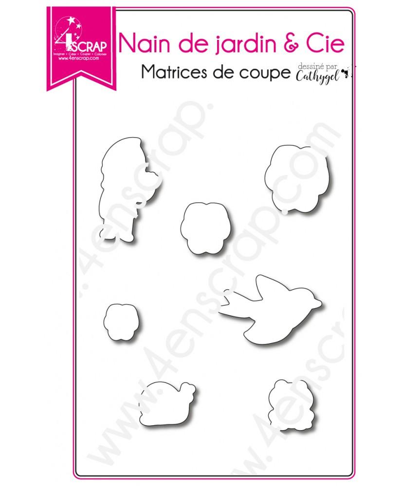 Cutting Die Scrapbooking Card Making Animal Flower - Garden ... destiné Nain De Jardin Design