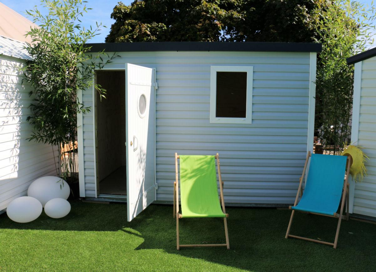Dacri, L'abri De Jardin | Abris Design Toit Plat intérieur Abris De Jardin Occasion