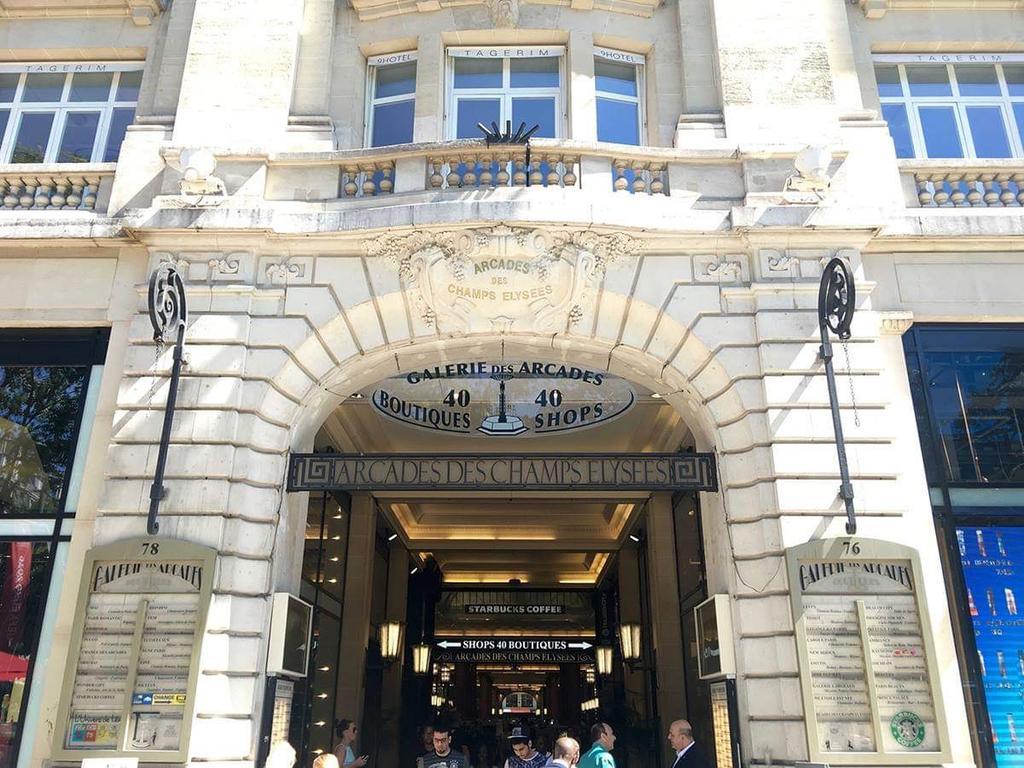 Daire Avenue Des Champs Elysées - Studio (Fransa Paris ... intérieur Lit De Jardin Rond