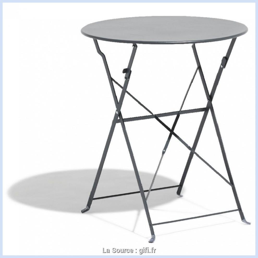 De Petite Pliante Idéal Ronde Table Jardin Zpioutwkx concernant Table De Jardin Metal Pliante