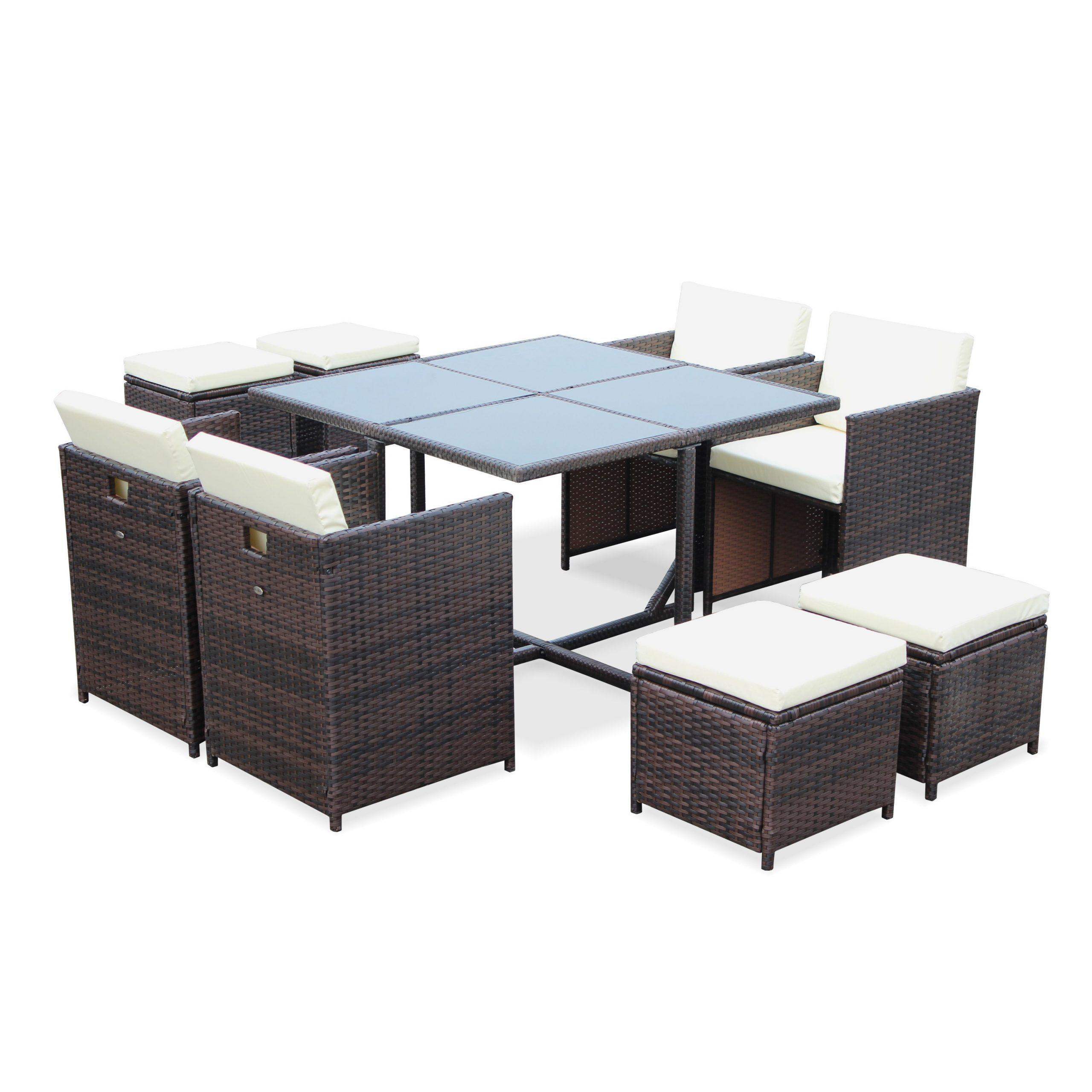 De Table Table De Fauteuil Jardin Encastrable Qcdtsrbohx tout Salon De Jardin Résine Tressée Encastrable