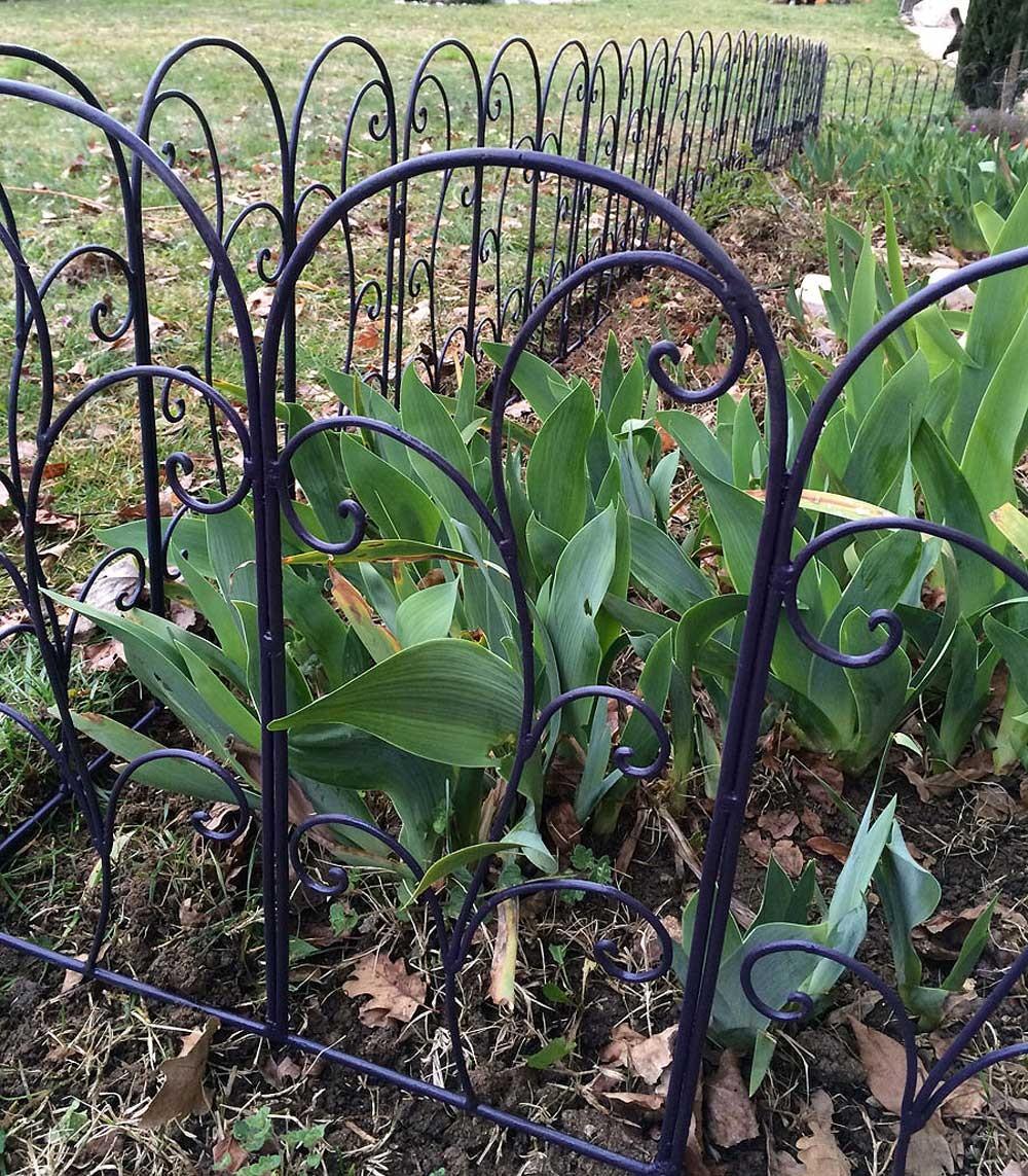 De Très Jolies Bordures En Fer Forgé Pour Votre Jardin destiné Bordure Jardin Metal