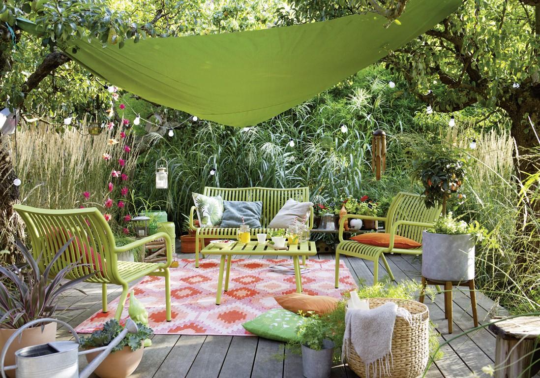 Déco Jardin : 5 Astuces Pour Décorer Son Jardin Façon ... pour Decoration De Jardin En Fer Forgé