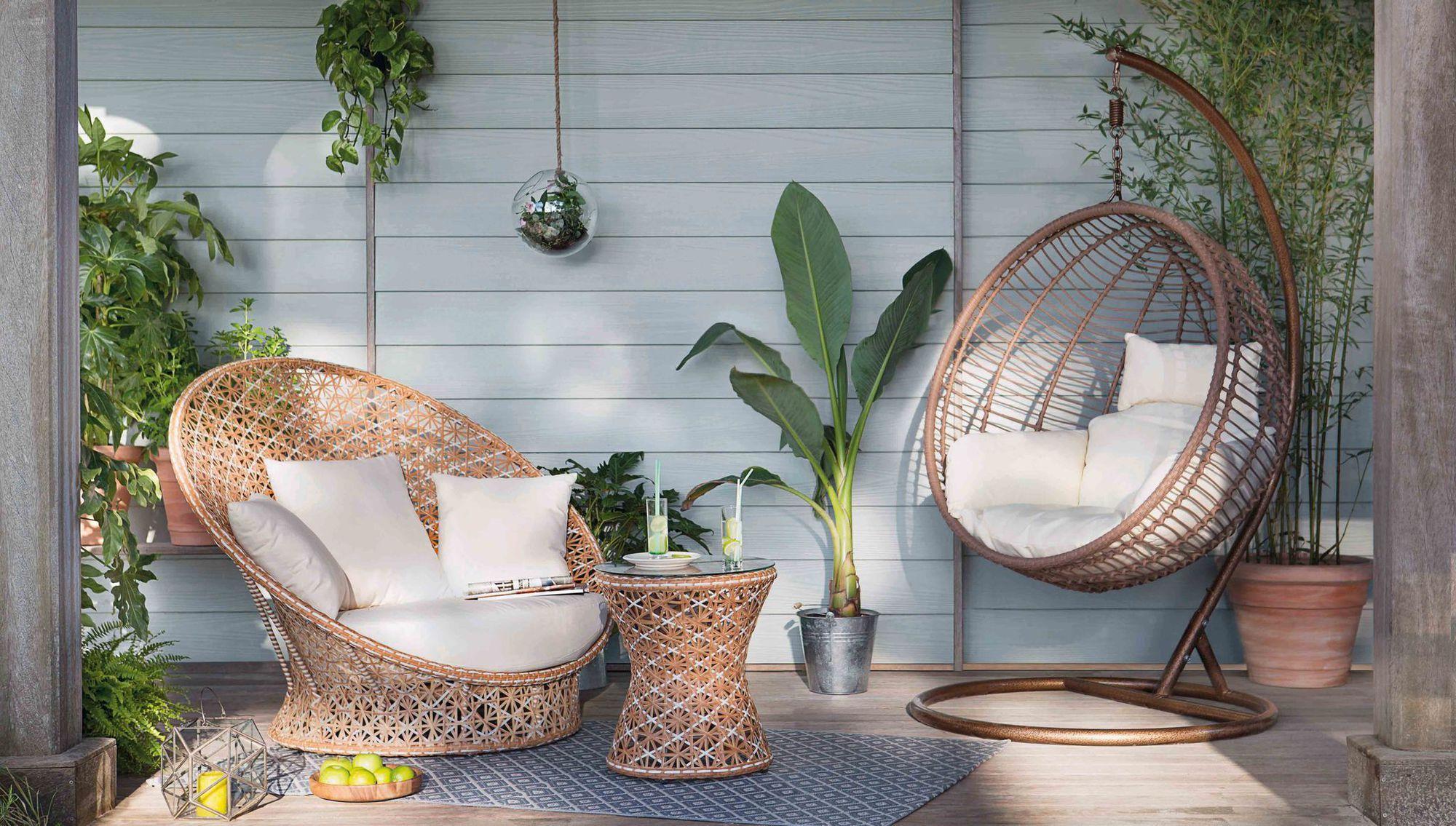 Déco Jardin : Ambiance Lounge Et Cosy | Balkong Design ... avec Loveuse De Jardin