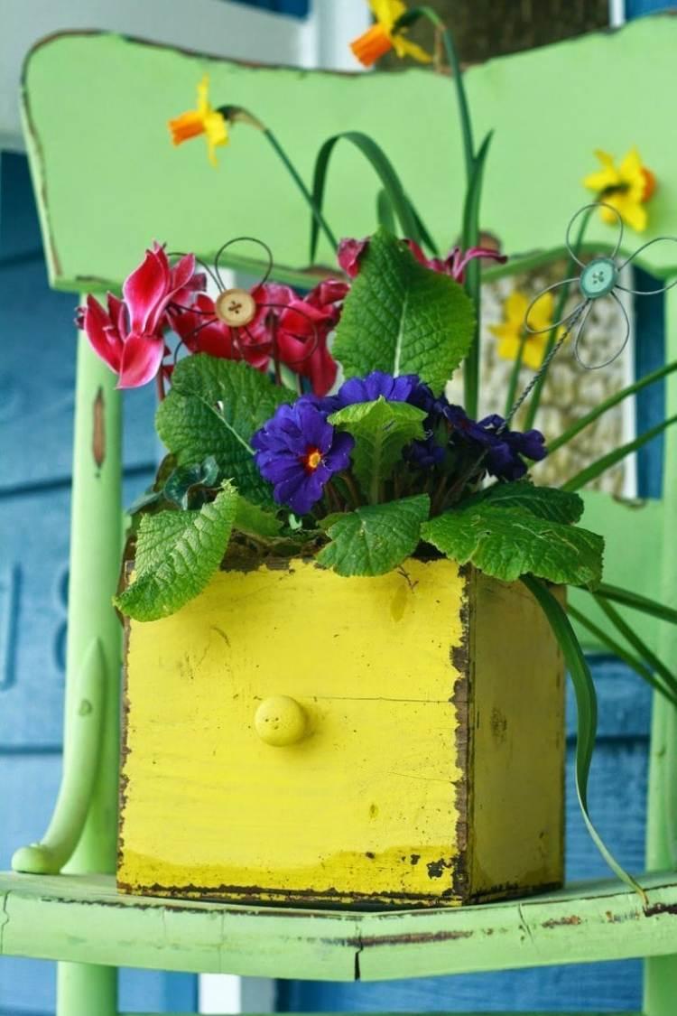 Déco Jardin Diy: Idées Originales Et Faciles Avec Objet De ... dedans Velo Deco Jardin