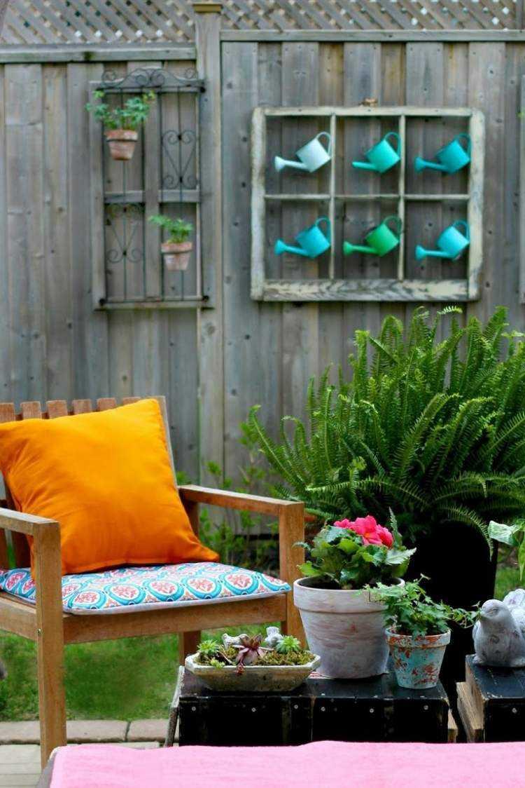 Déco Jardin Diy: Idées Originales Et Faciles Avec Objet De ... intérieur Objet Decoration Jardin