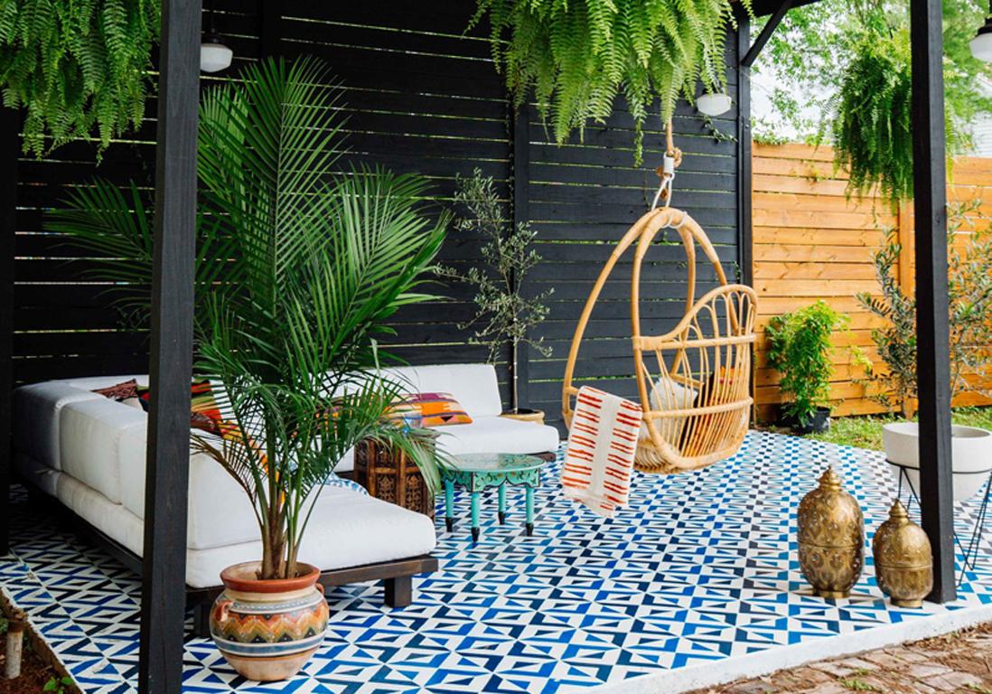 Déco : Les Tendances De L'été Repérées Sur Pinterest - Elle ... concernant Astuce Deco Jardin Recup