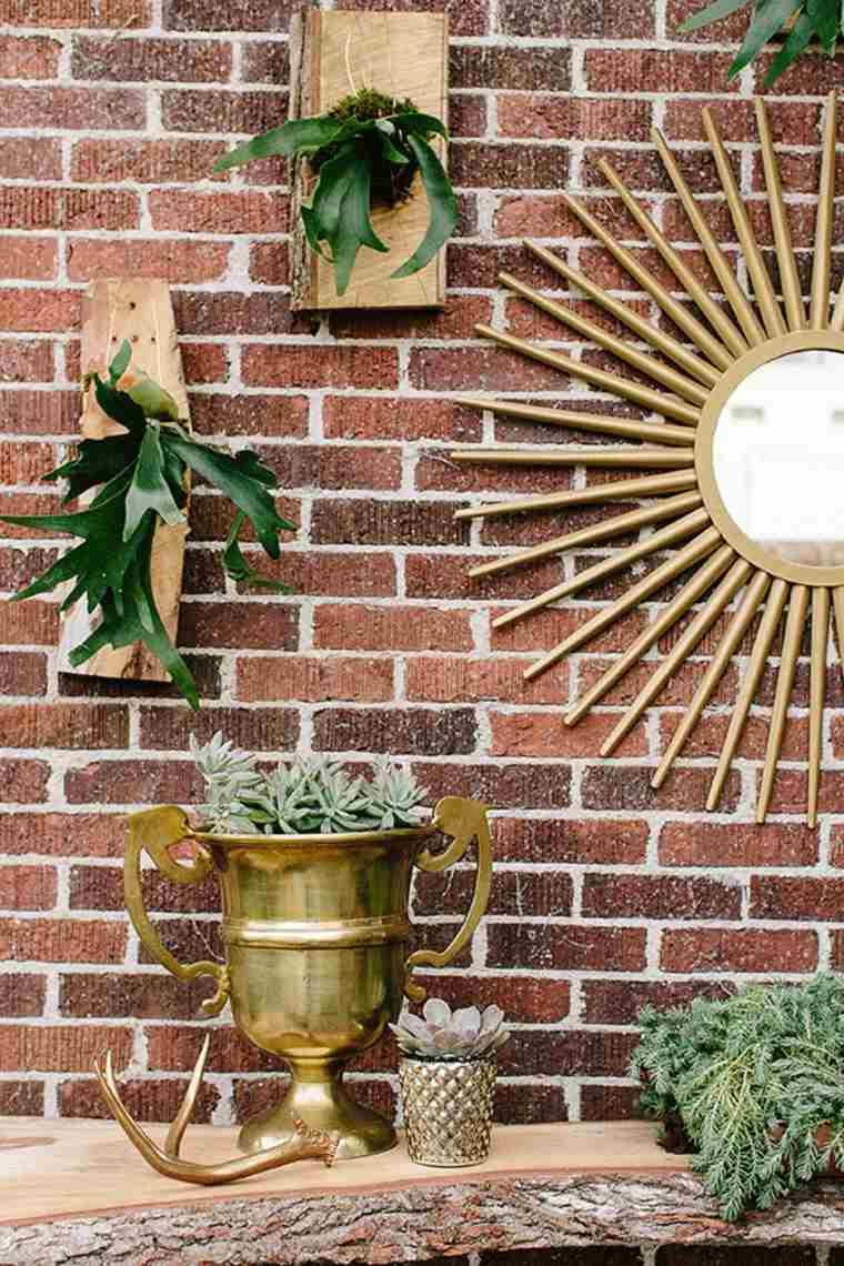 Décor Jardin - 31 Idées Créatives Pour La Déco De Jardin intérieur Decoration Pour Mur Exterieur De Jardin