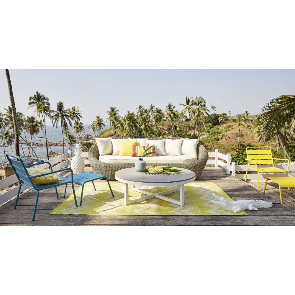 Décoration De Jardin | Garden Sofa, Outdoor, Outdoor ... avec Maison Du Monde Table De Jardin