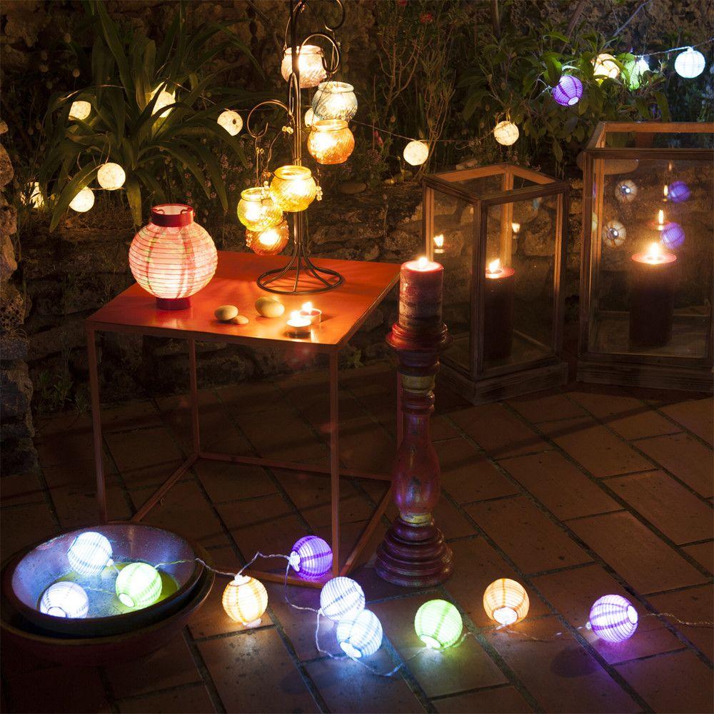 Décoration De Jardin | Guirlande Lampion, Lampion Et ... concernant Lampion Jardin