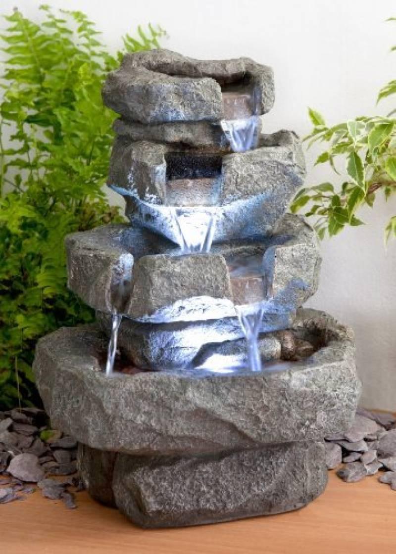 Décoration D'extérieur Fontaines Fontaine Jardin Zen ... serapportantà Fontaine Exterieure De Jardin