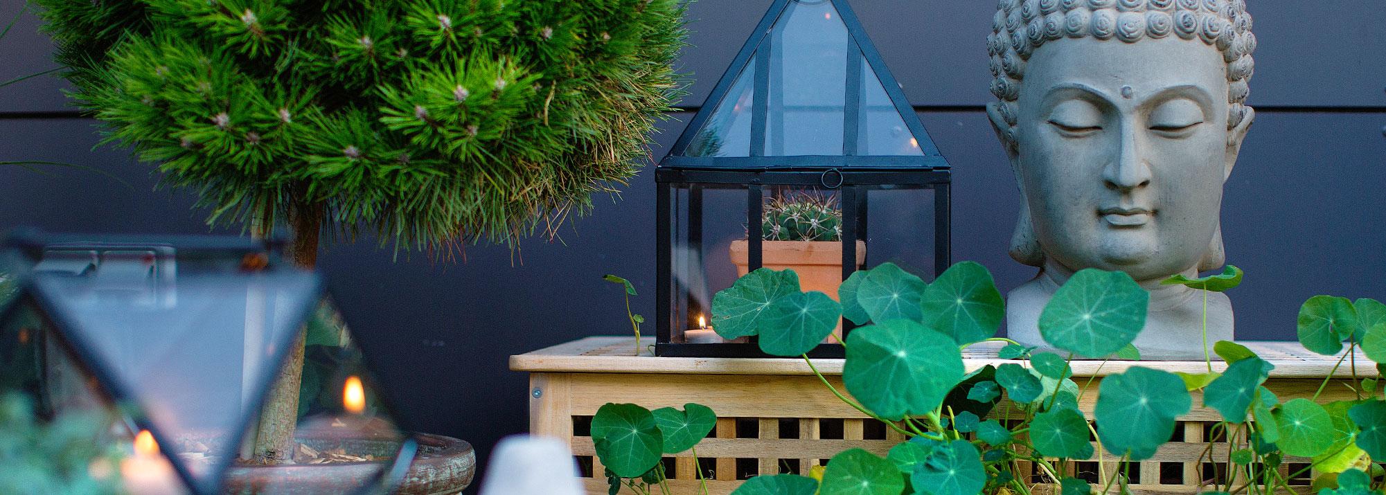 Décoration Du Jardin : Décoration Et Aménagement Du Jardin ... tout Pot Deco Jardin Exterieur