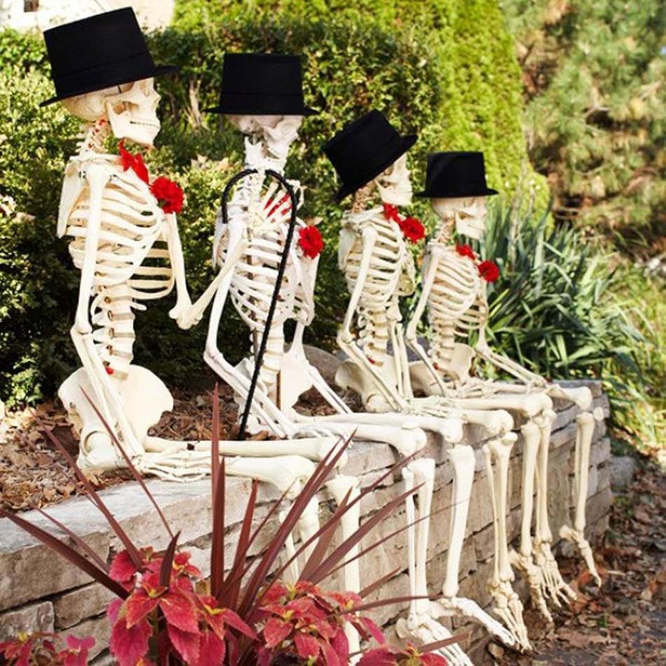 Décoration Halloween : 16 Inspirations En Images Pour ... concernant Deco Jardin Halloween