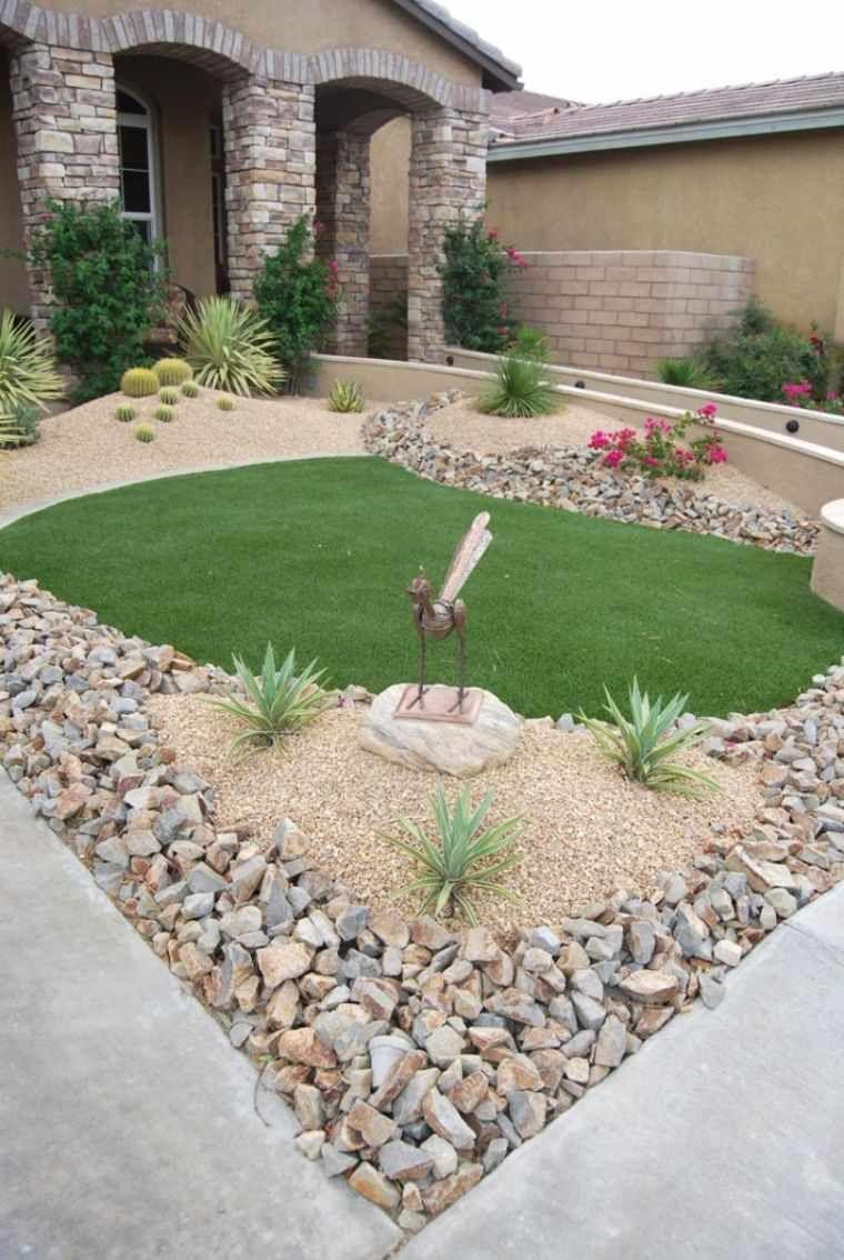 Décoration Jardin Avec Galets Ou Gravier - Avantages ... intérieur Cailloux Décoration Jardin
