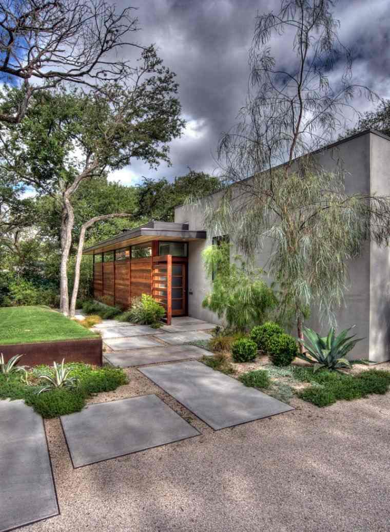 Décoration Jardin Avec Galets Ou Gravier - Avantages ... pour Jardin Avec Galets Blancs
