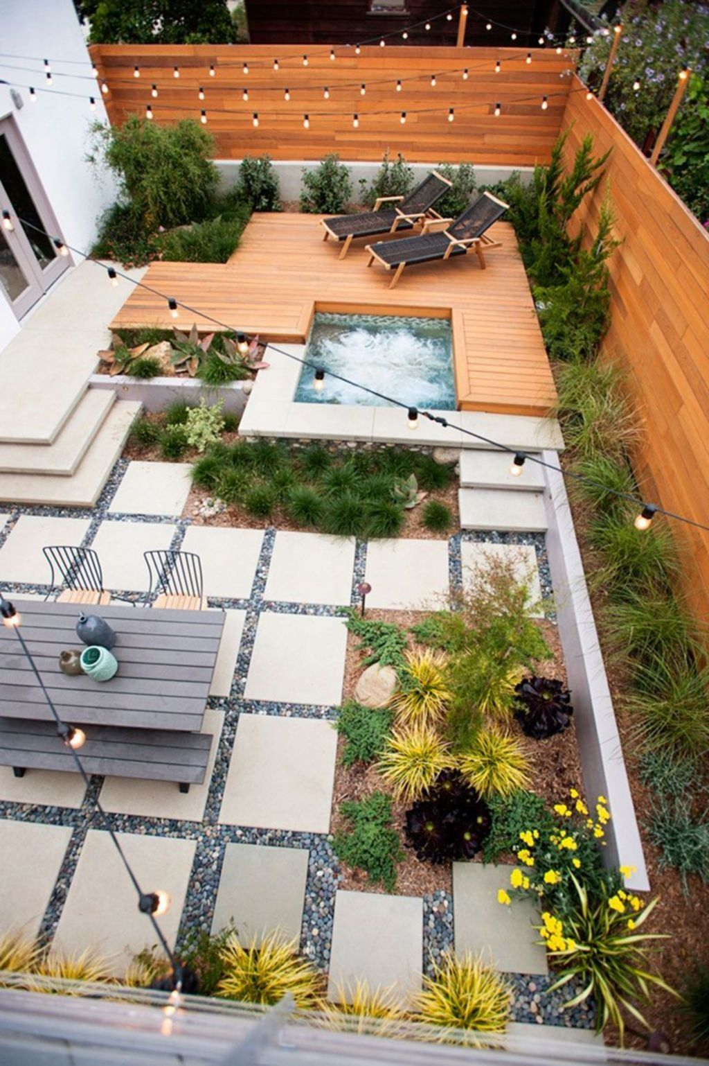 Decoration Jardin By Claudine Lamarre In 2020 | Backyard ... dedans Modele De Jardin Avec Galets