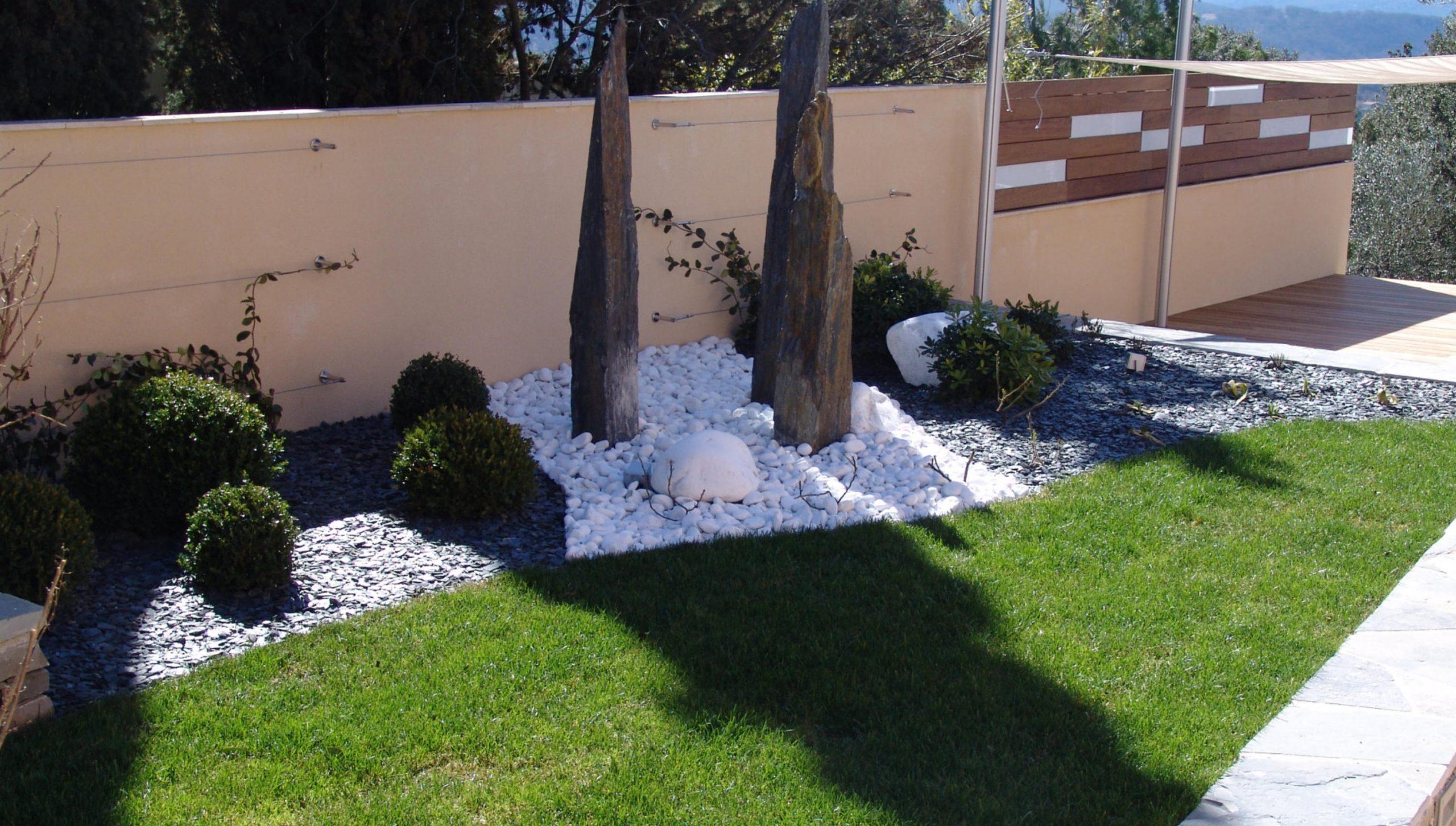 Décoration Jardin Montpellier Nimes destiné Ardoise Deco Jardin
