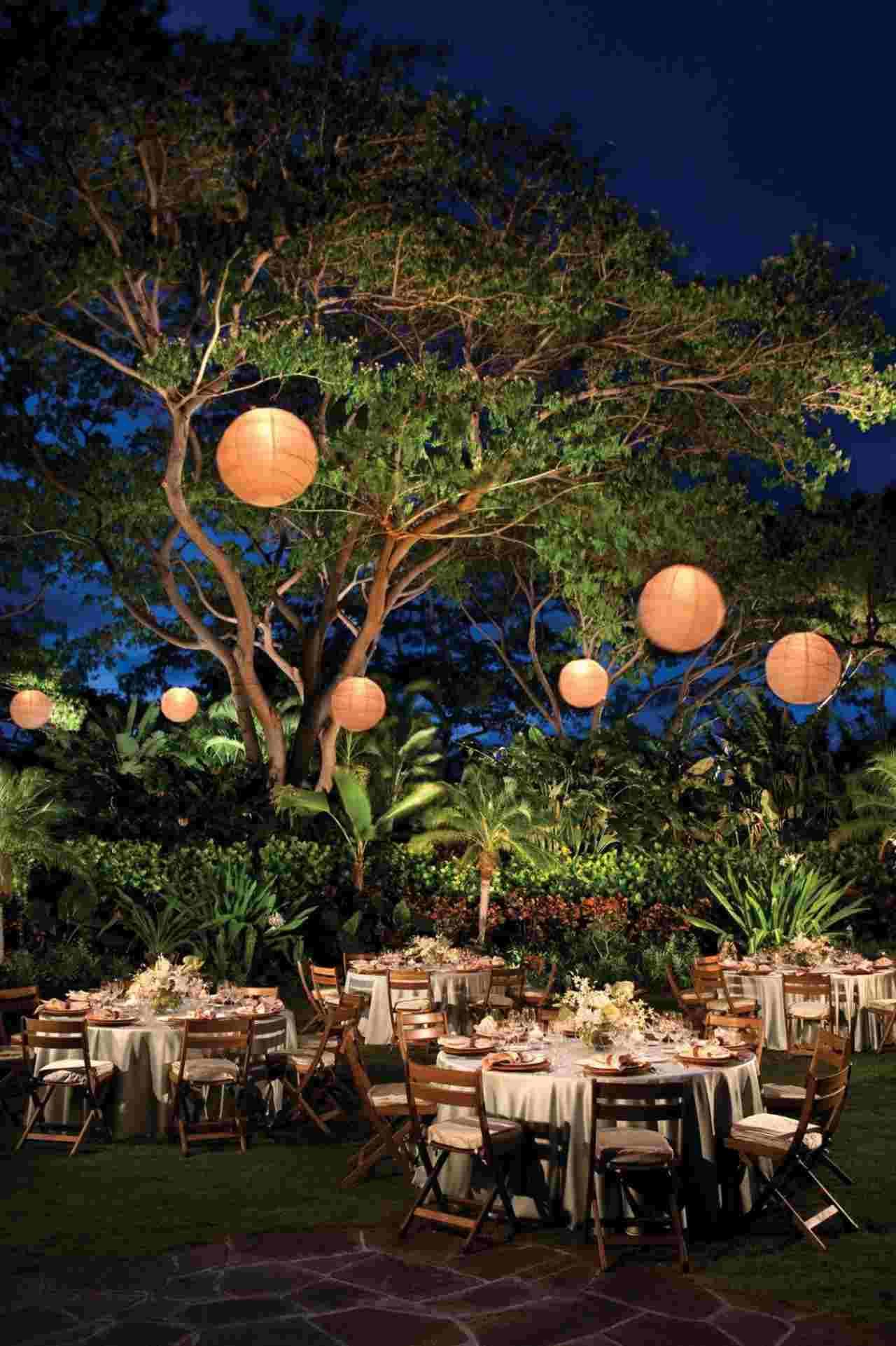 Décoration Lumineuse Mariage : Organisez Votre Jour J Sous ... pour Boule Lumineuse Jardin