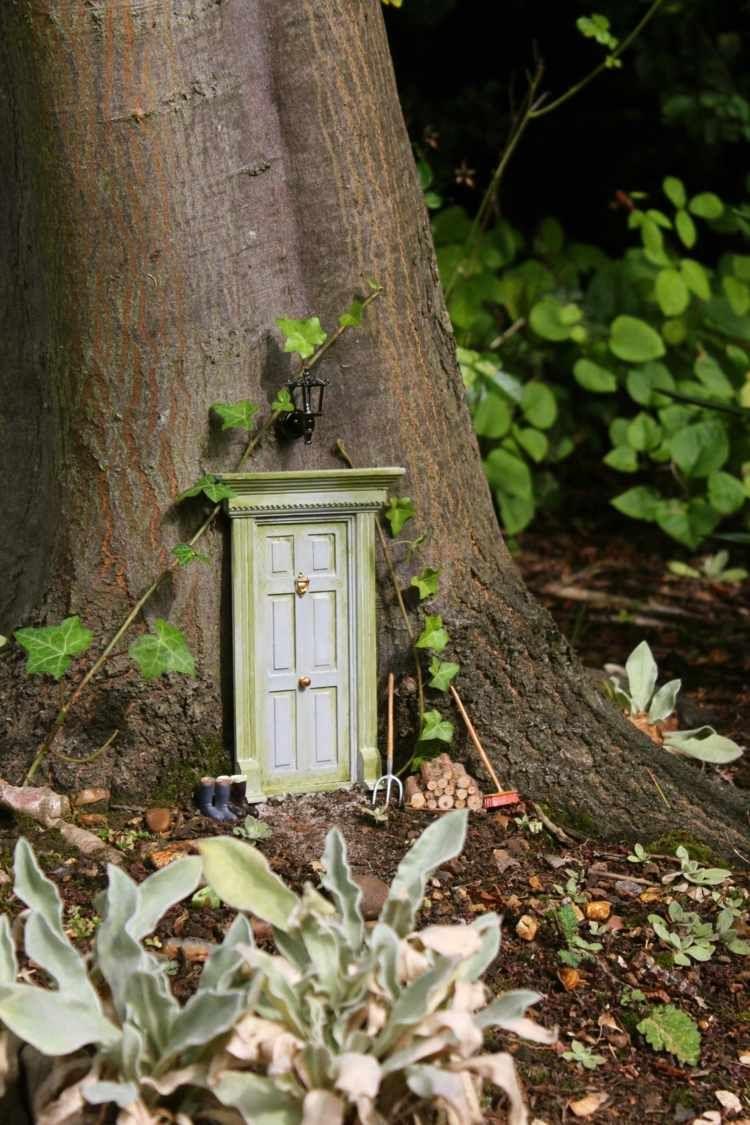 Décoration Pour Jardin À Faire Soi-Même–Porte De Gnome ... à Decoration De Jardin A Faire Soi Meme