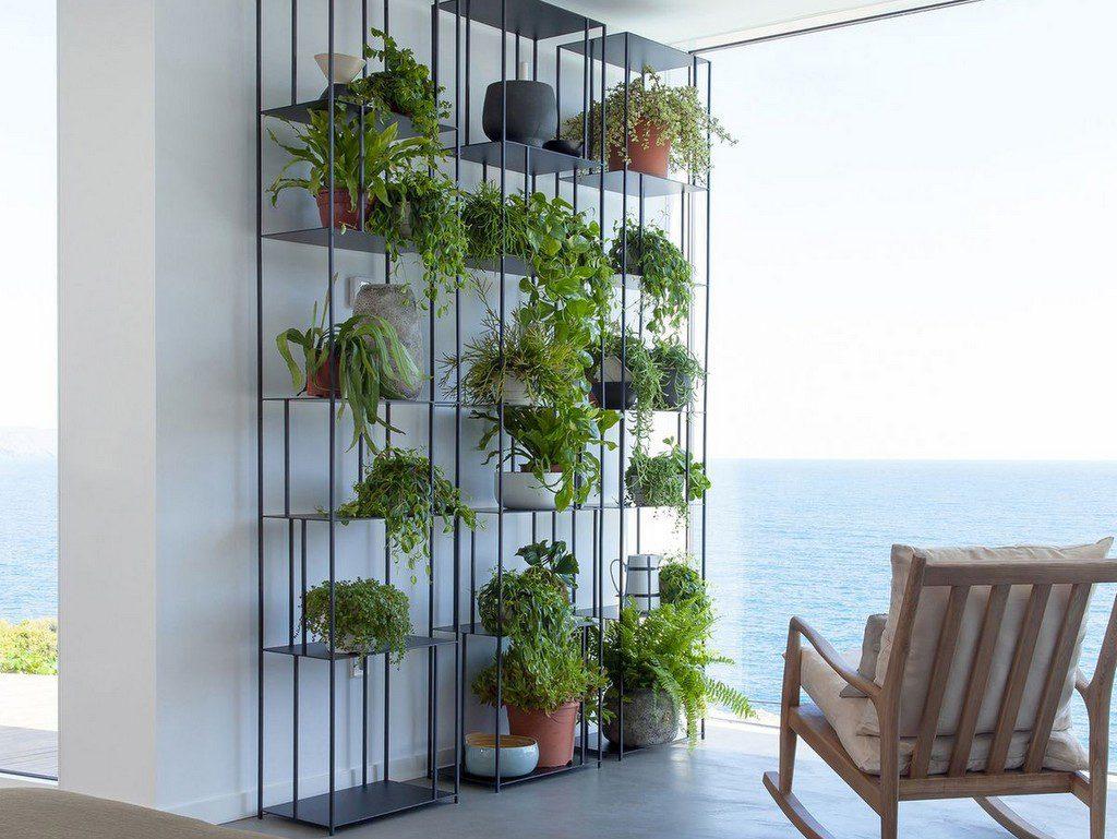 Décoration Végétale : Des Idées Inspirantes Pour Votre ... encequiconcerne Etagere De Jardin Pour Plantes