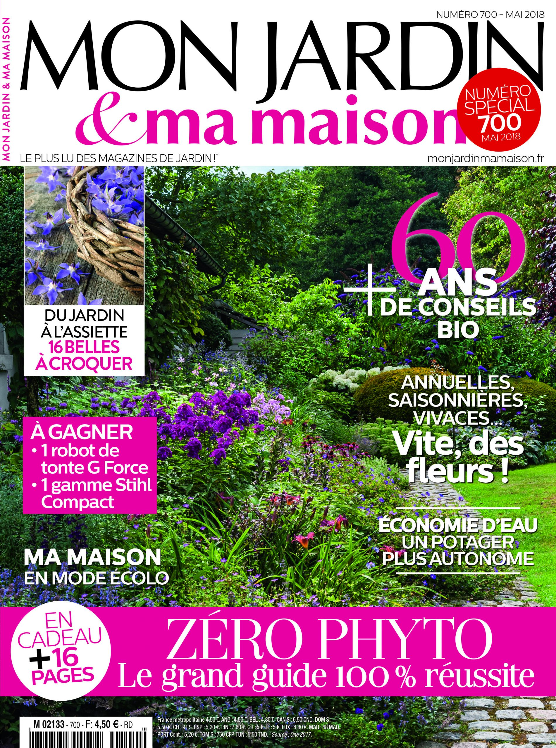 Découvrez Le 700E Numéro De Mon Jardin & Ma Maison En ... encequiconcerne Magazine Mon Jardin Et Ma Maison