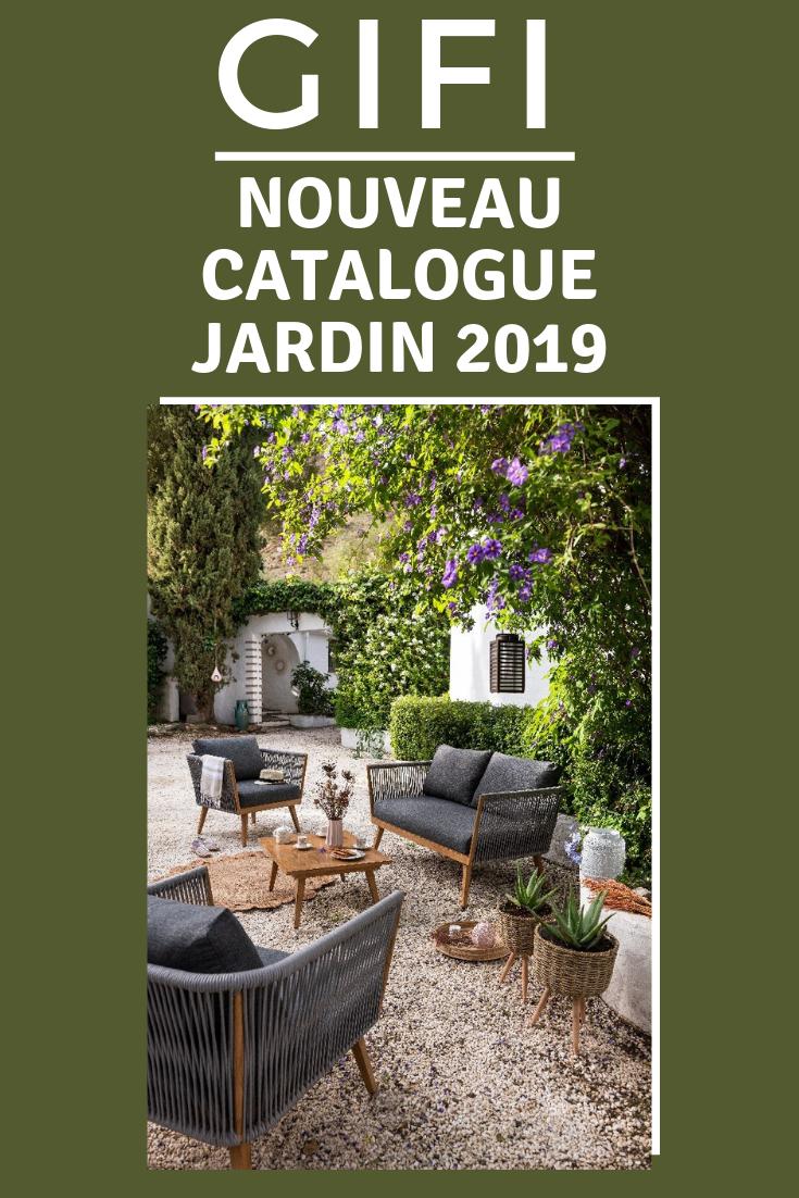 Découvrez Le Nouveau Catalogue #gifi Pour Aménager Et ... encequiconcerne Catalogue Gifi Salon De Jardin