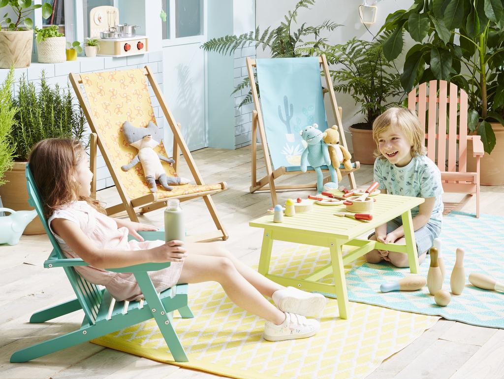 Dehors, Les Kids ! Le Mobilier Extérieur Enfant - Joli Place avec Salon De Jardin Enfants