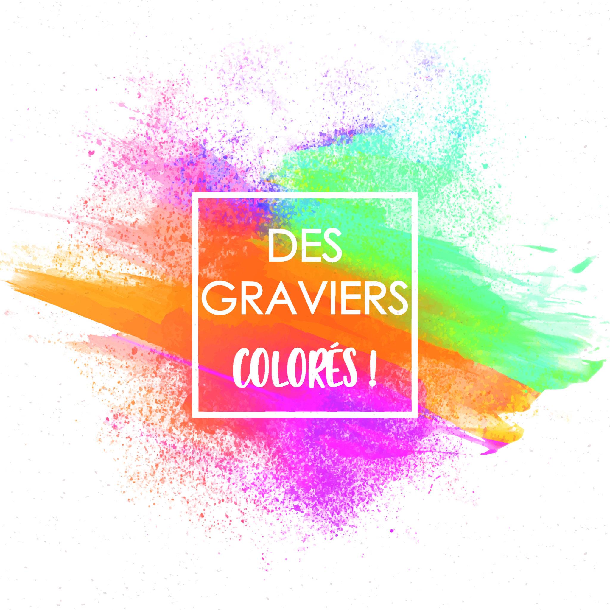 Des Graviers Décoratifs Colorés Dans Votre Jardin Avec King ... serapportantà Modele De Jardin Avec Galets