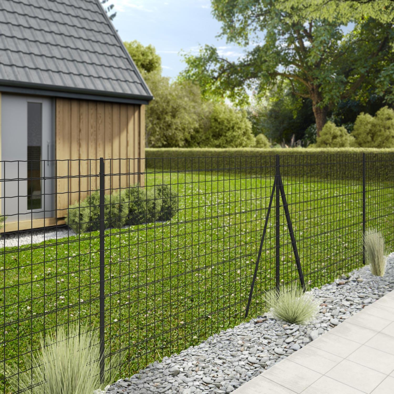 Des Grillage En Plastique Pour Balcon Et Clôtures Renforcé ... tout Clotures De Jardin