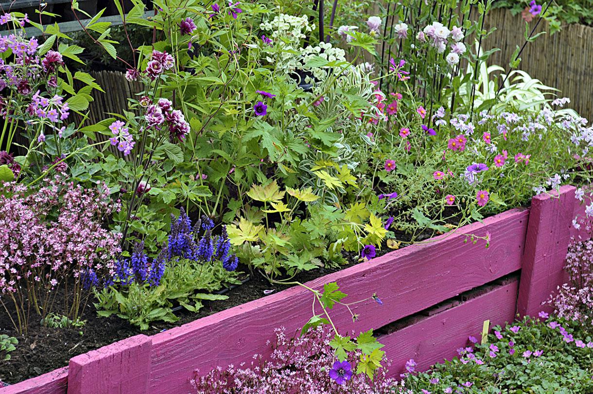 Des Idées Originales De Bordures De Jardin ! - Bricolage Maison à Bordure De Jardin En Palette