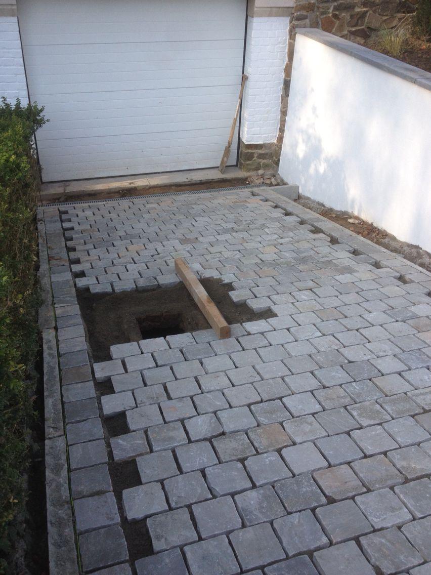 Descente Garage Kandla 15X15 Gris   Revetement Sol Exterieur ... encequiconcerne Pavé De Jardin