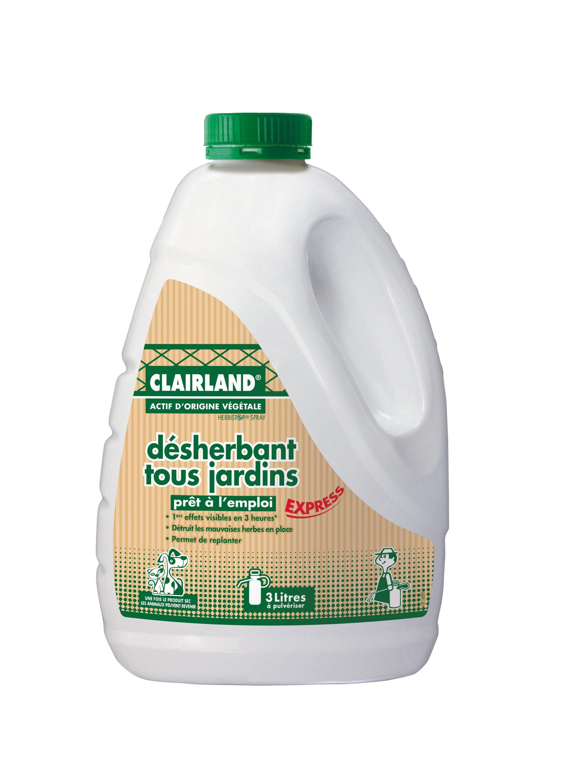 Désherbant Polyvalent Clairland 3 L pour Bayer Jardin Desherbant Gazon