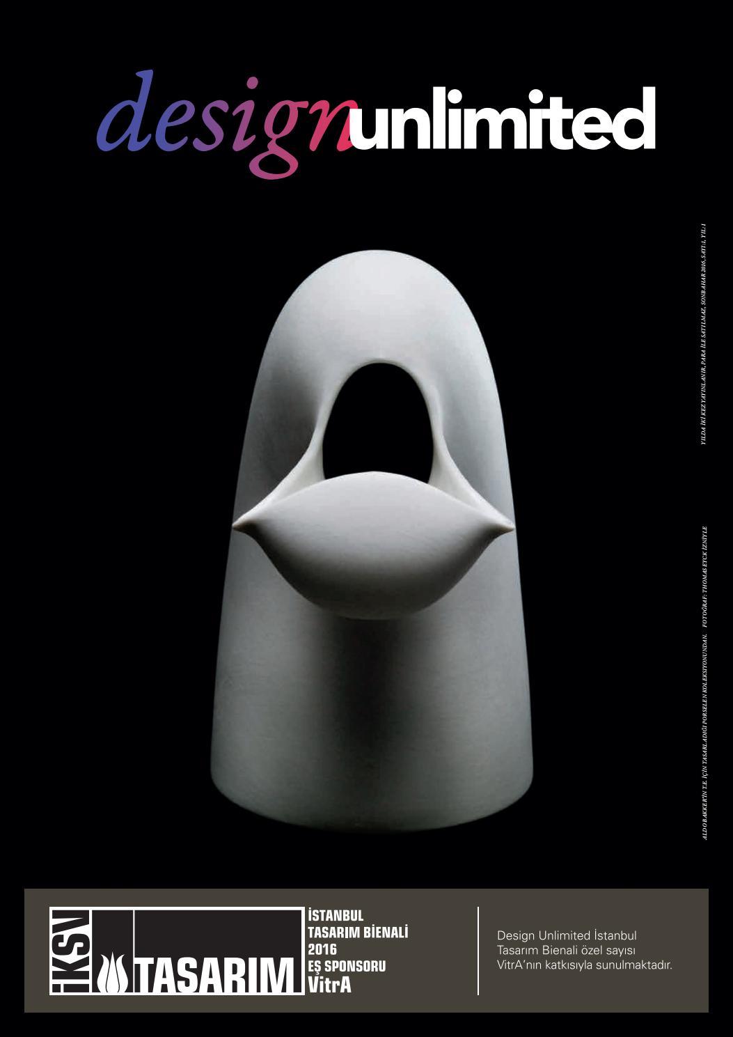 Design Unlimited Ekim 2016 By Art Unlimited - Issuu encequiconcerne Salon De Jardin Bas Aluminium