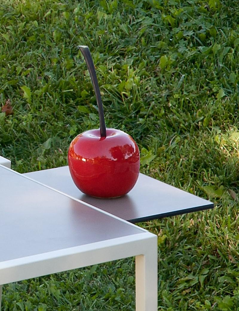 Desserte De Jardin Pour Table Haute Empilable Taupe Curvilis ... encequiconcerne Vente Privee Jardin