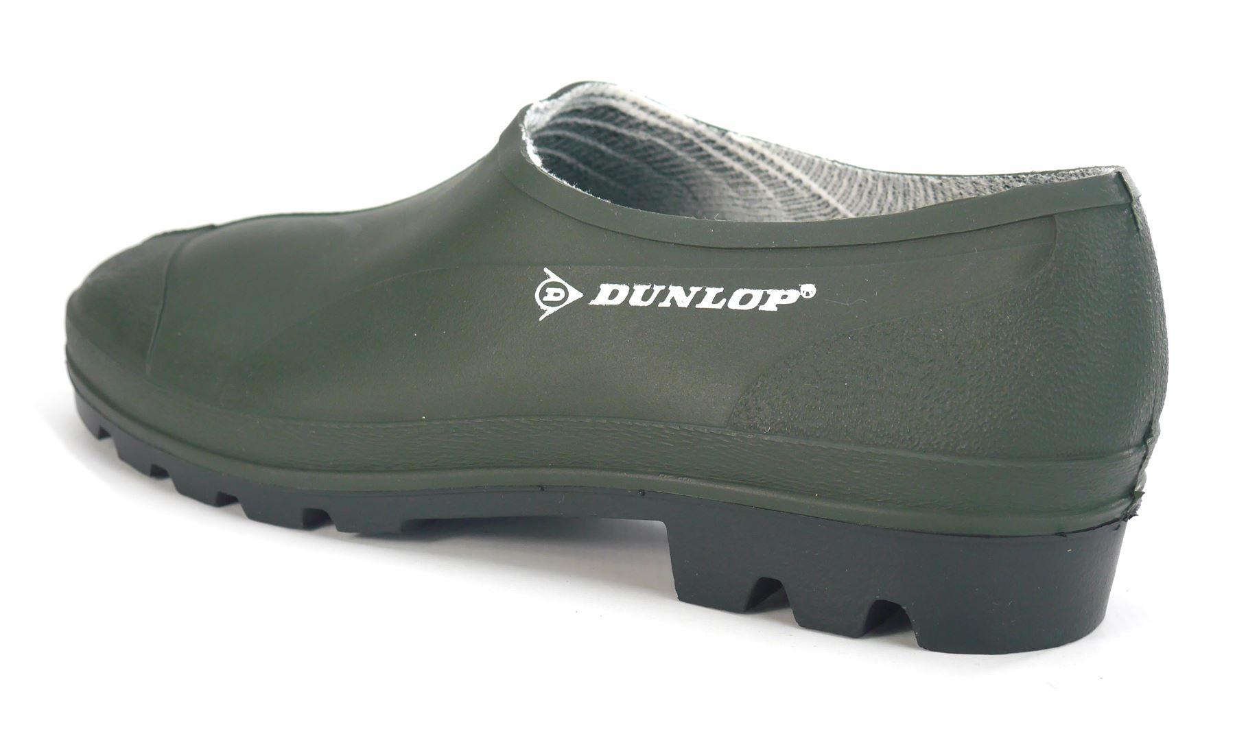 Détails Sur Dunlop Jardinage Sabots Pvc Chaussures Caoutchouc Bottes  Imperméables à Chaussure De Jardin