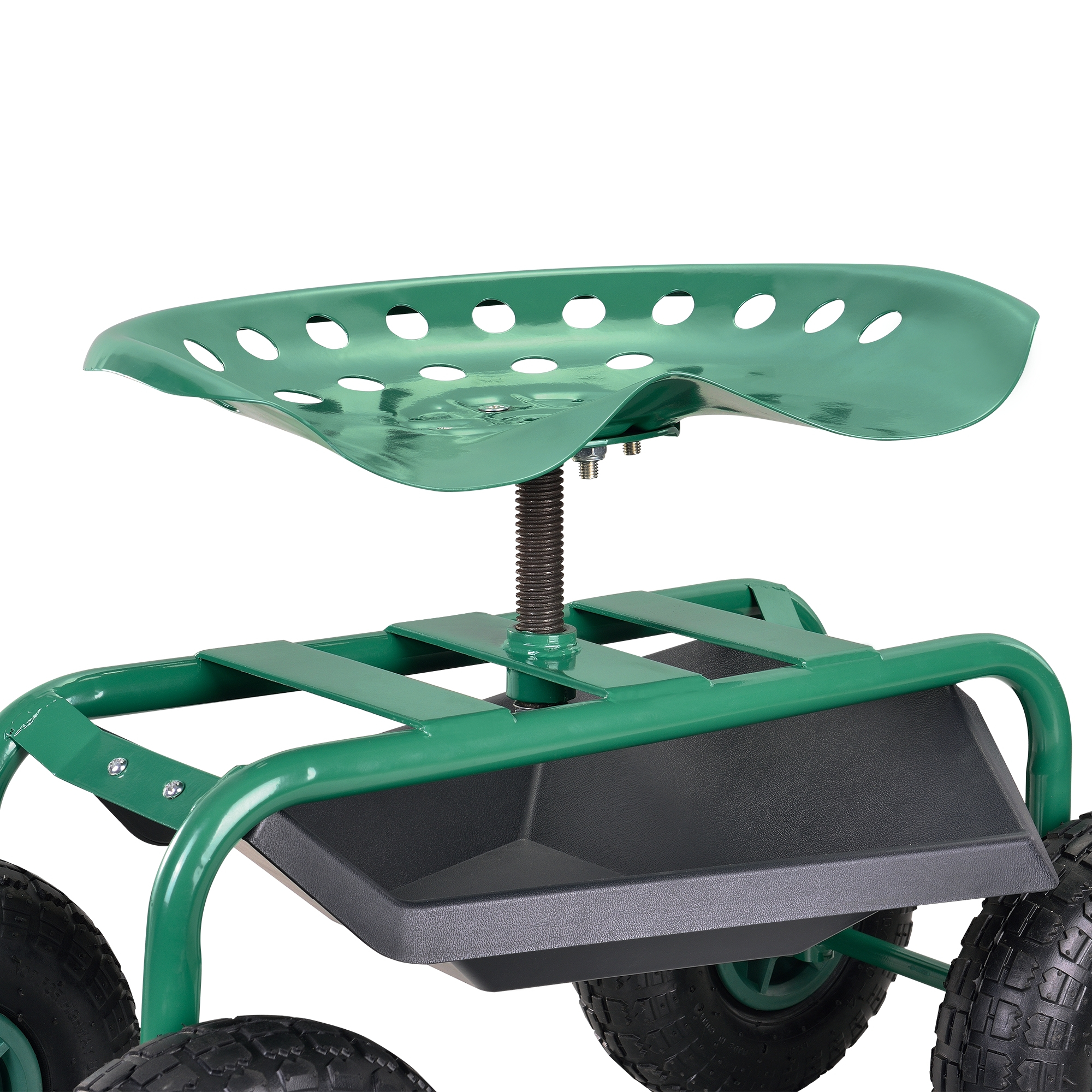 Détails Sur [Pro.tec] Siège De Jardin Mobile Siège Roulant Outil De Jardin  Scooter De Jardin concernant Siege De Jardin