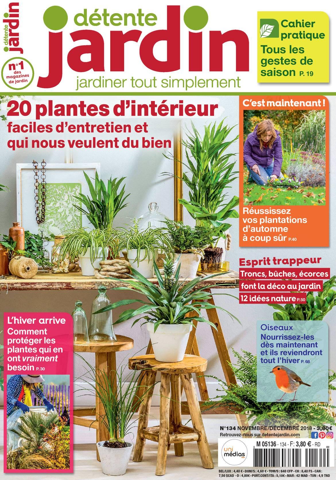 Détente Jardin Hs N° 7 intérieur Détente Jardin Magazine