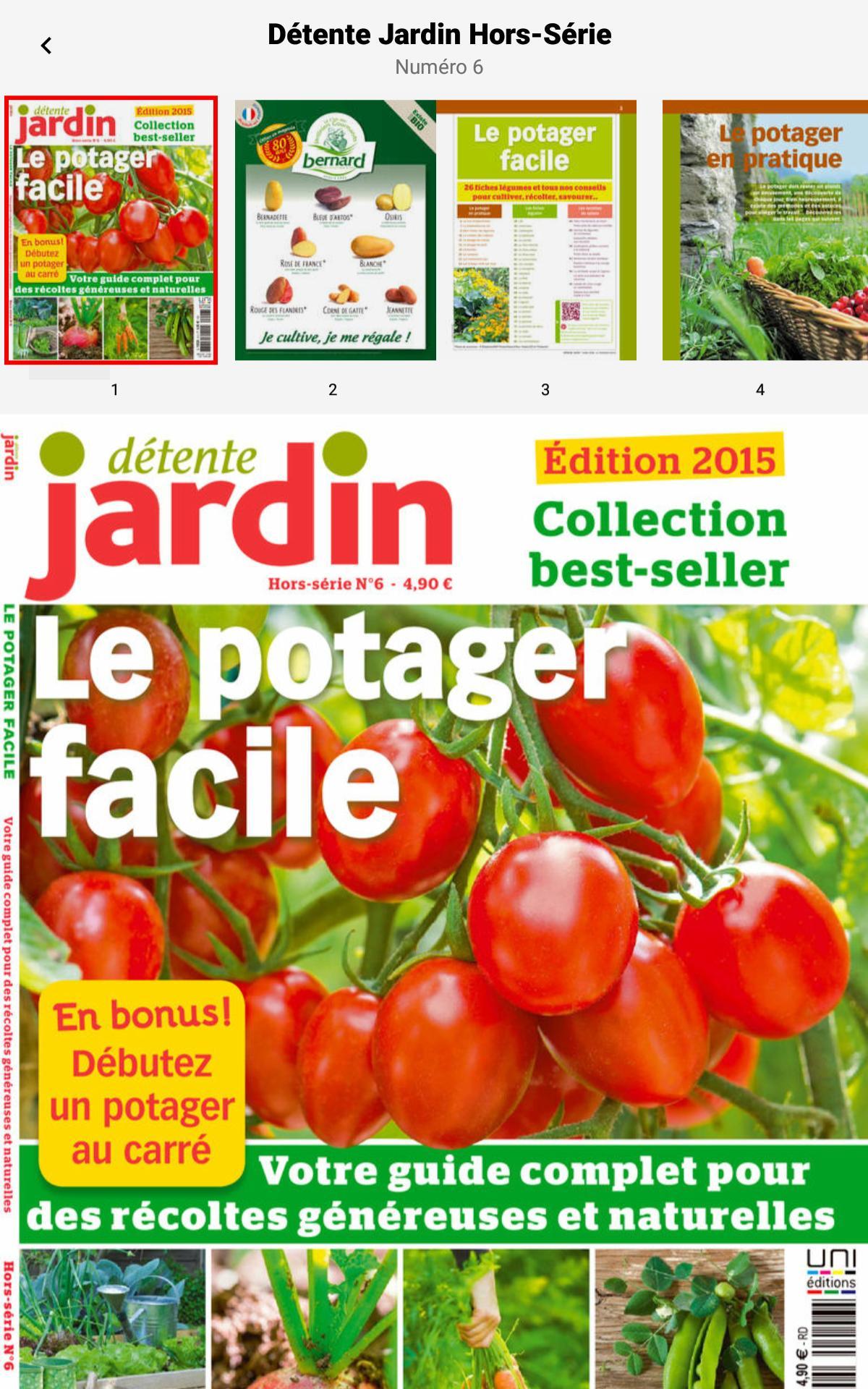 Détente Jardin - Le Magazine For Android - Apk Download avec Jardiner Bio Magazine