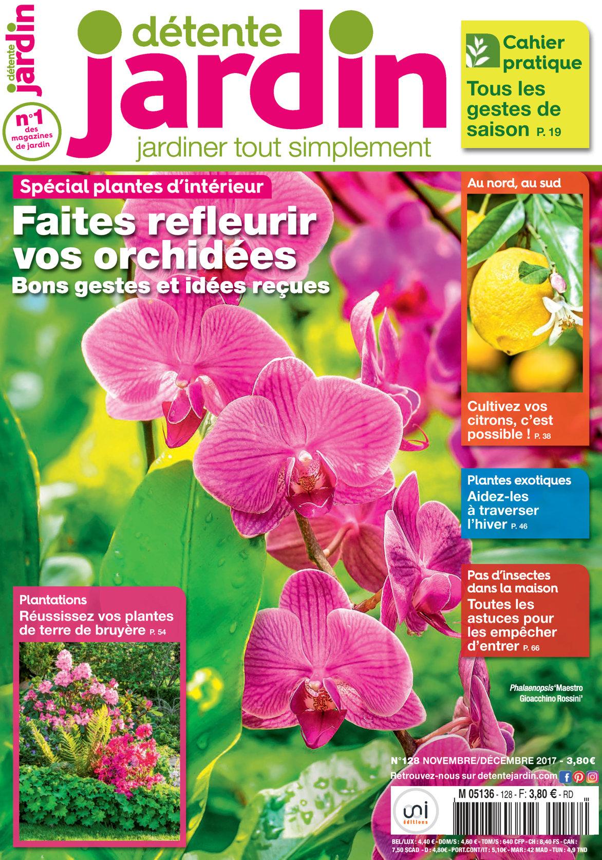 Détente Jardin N° 128 serapportantà Détente Jardin Magazine