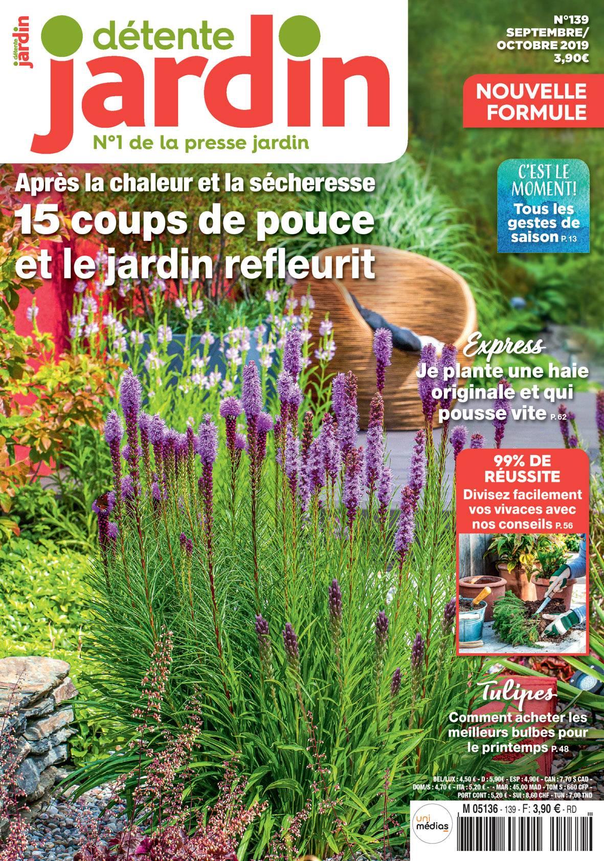 Détente Jardin N° 139 destiné Détente Jardin Abonnement