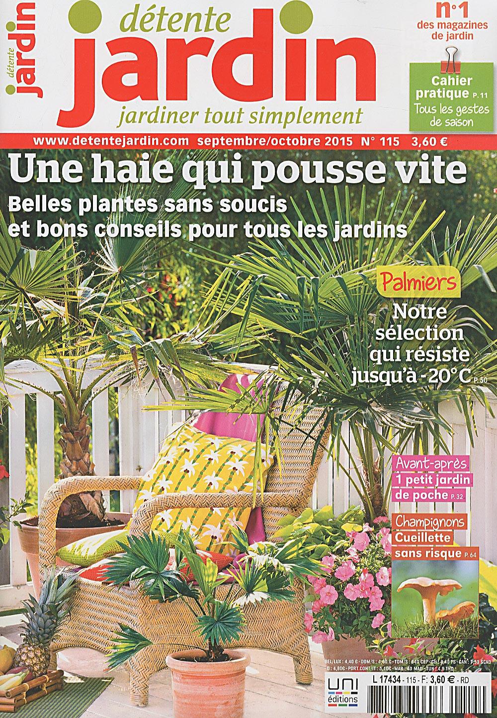 Direct-Éditeurs - * Le Service-Client Des Diffuseurs De Presse * destiné Détente Jardin Magazine