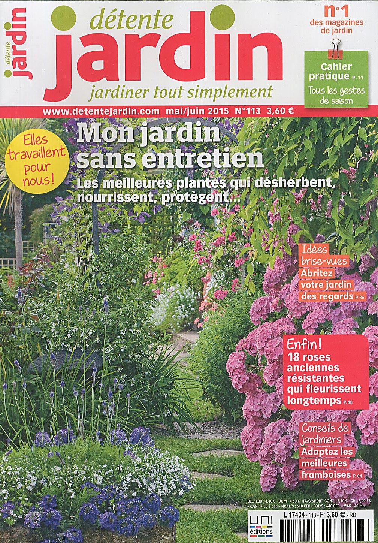 Direct-Éditeurs - * Le Service-Client Des Diffuseurs De Presse * intérieur Détente Jardin Magazine