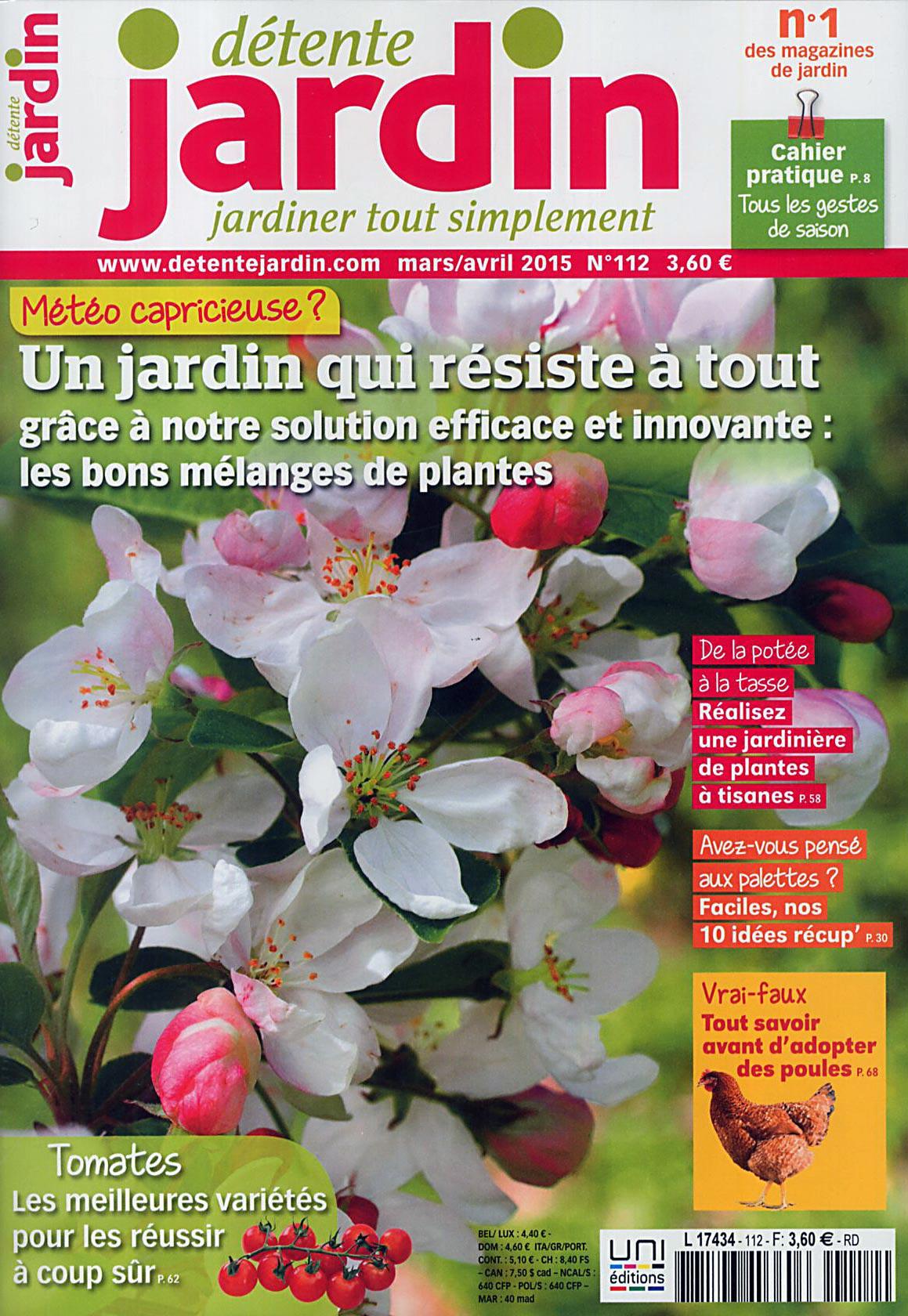 Direct-Éditeurs - * Le Service-Client Des Diffuseurs De Presse * serapportantà Détente Jardin Magazine