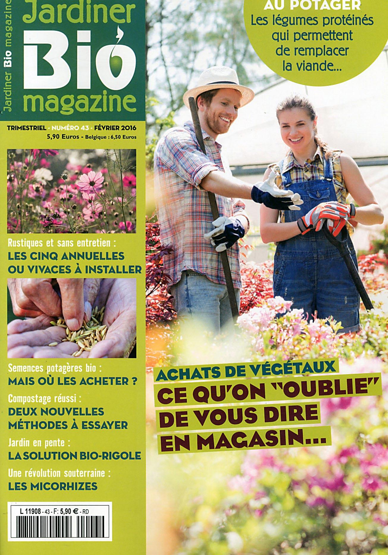 Direct-Éditeurs - * Le Service-Client Des Diffuseurs De Presse * serapportantà Jardiner Bio Magazine