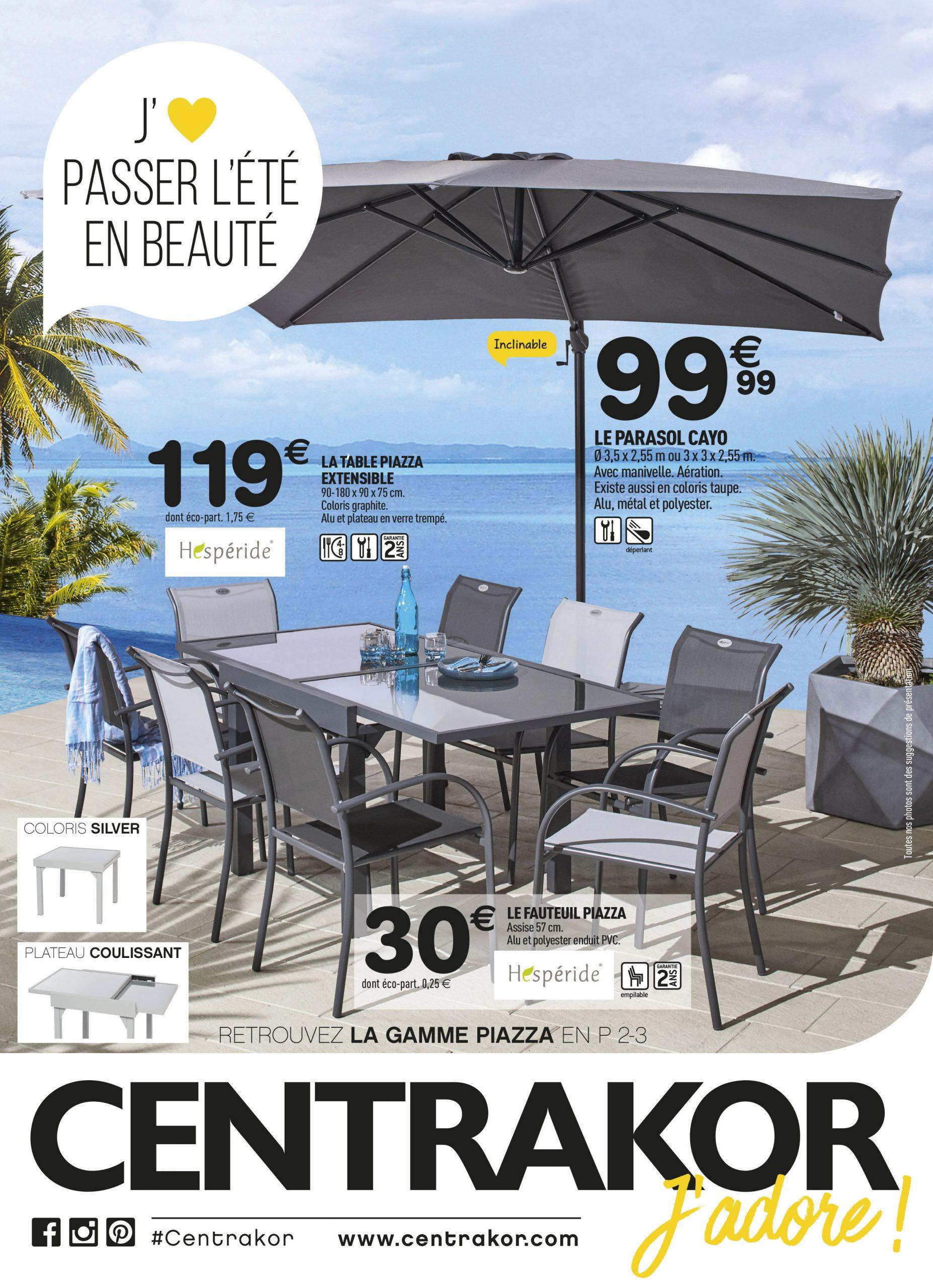 Direction Le Jardin Et La Terrasse ! | Centrakor Vannes ... dedans Table De Jardin Centrakor