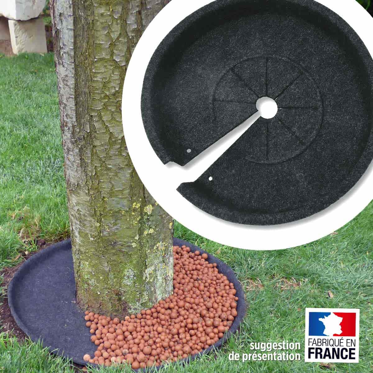 Disque Pour Habiller Le Pied Des Arbustes, 100% Recyclé encequiconcerne Arbustes Decoration Jardin