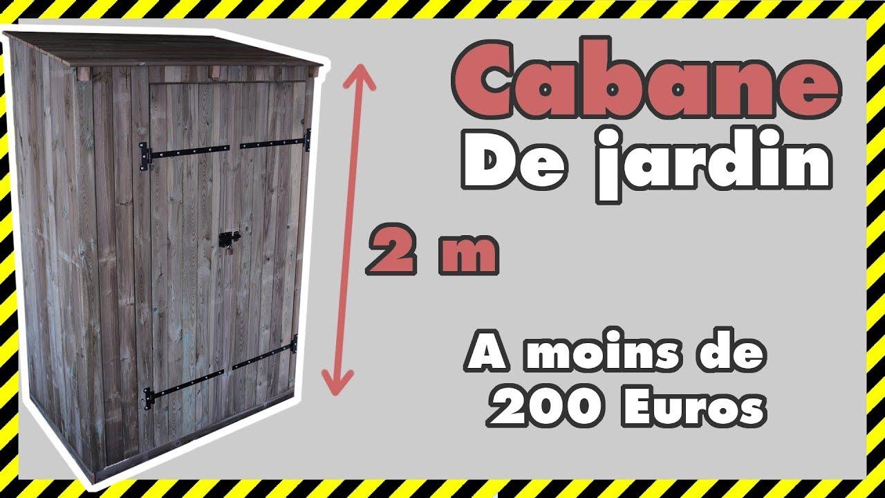 [#diy 12] Comment Faire Un Abri De Jardin Pas Cher Parti 1/2 encequiconcerne Construire Une Cabane De Jardin Soi Meme