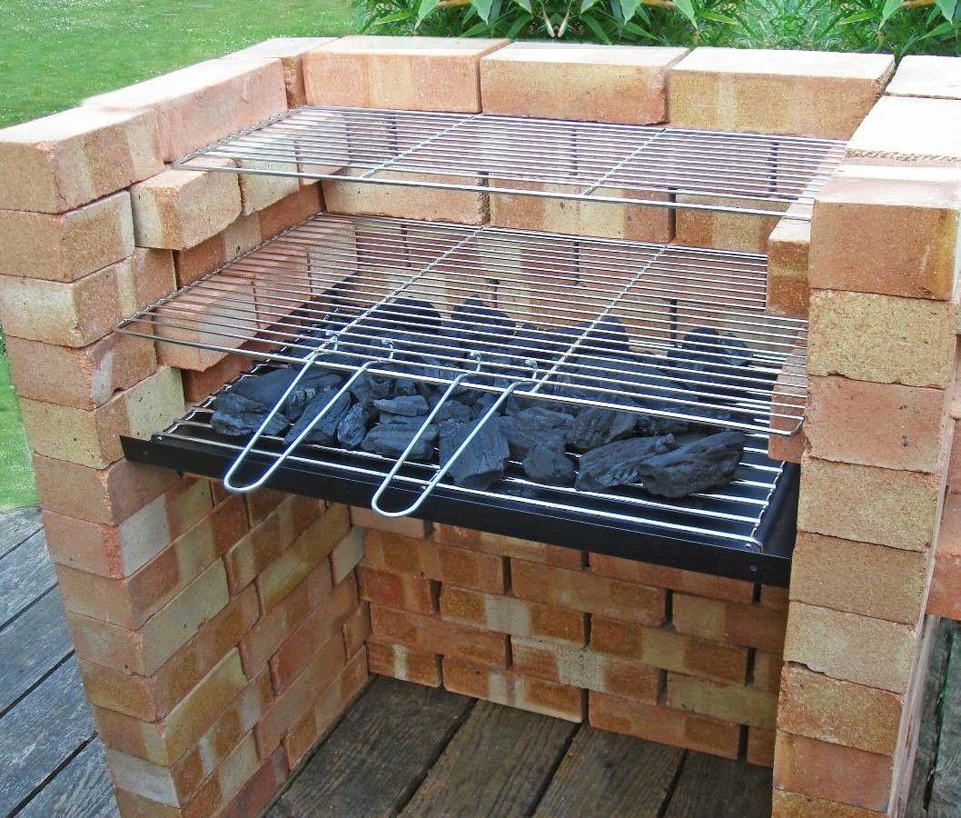 Diy Charcoal Grill - Recherche Google | Barbecue En Brique ... intérieur Barbecue De Jardin En Brique
