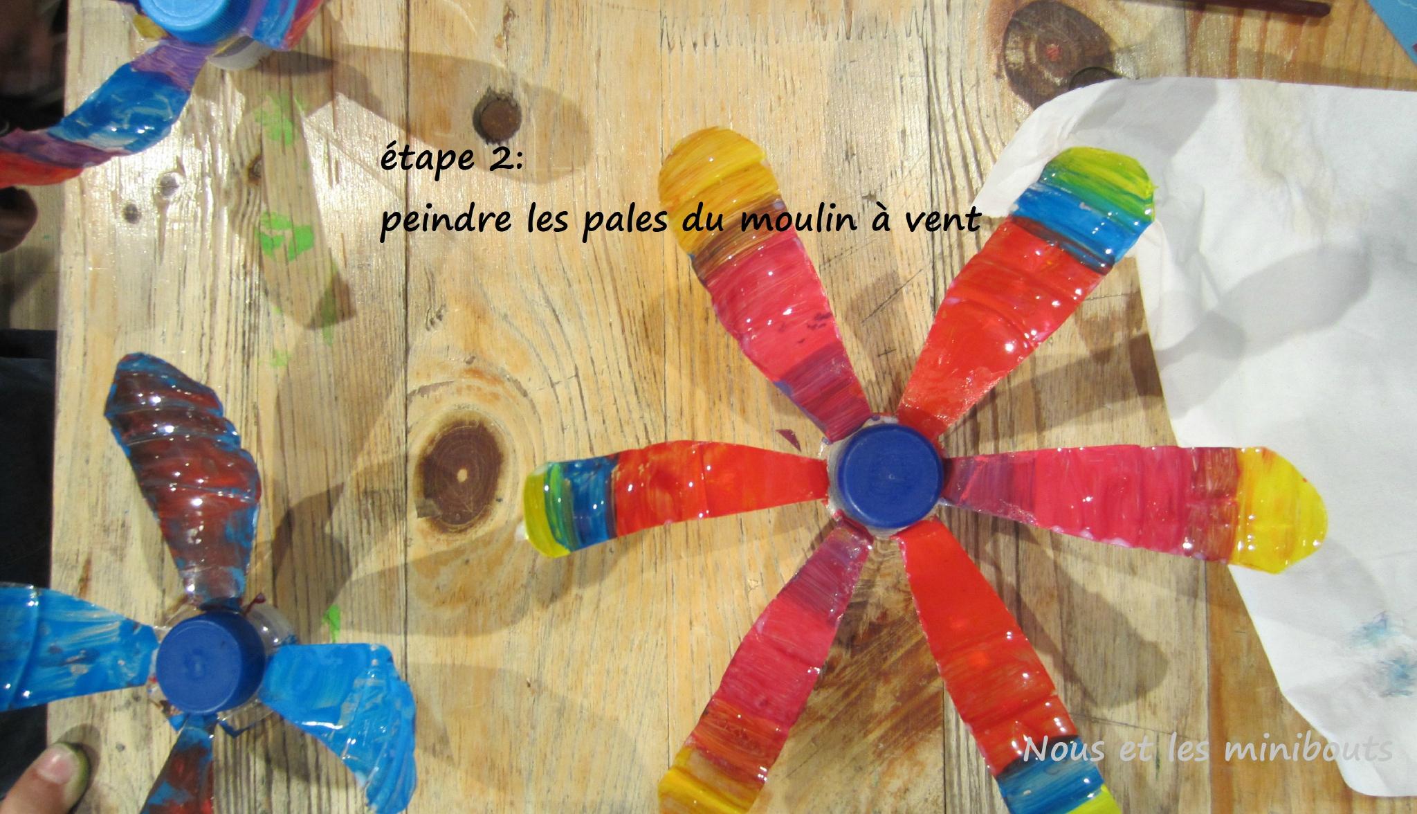 Diy : Comment Fabriquer Un Moulin À Vent Avec Des Matériaux ... concernant Fabriquer Moulin A Vent De Jardin